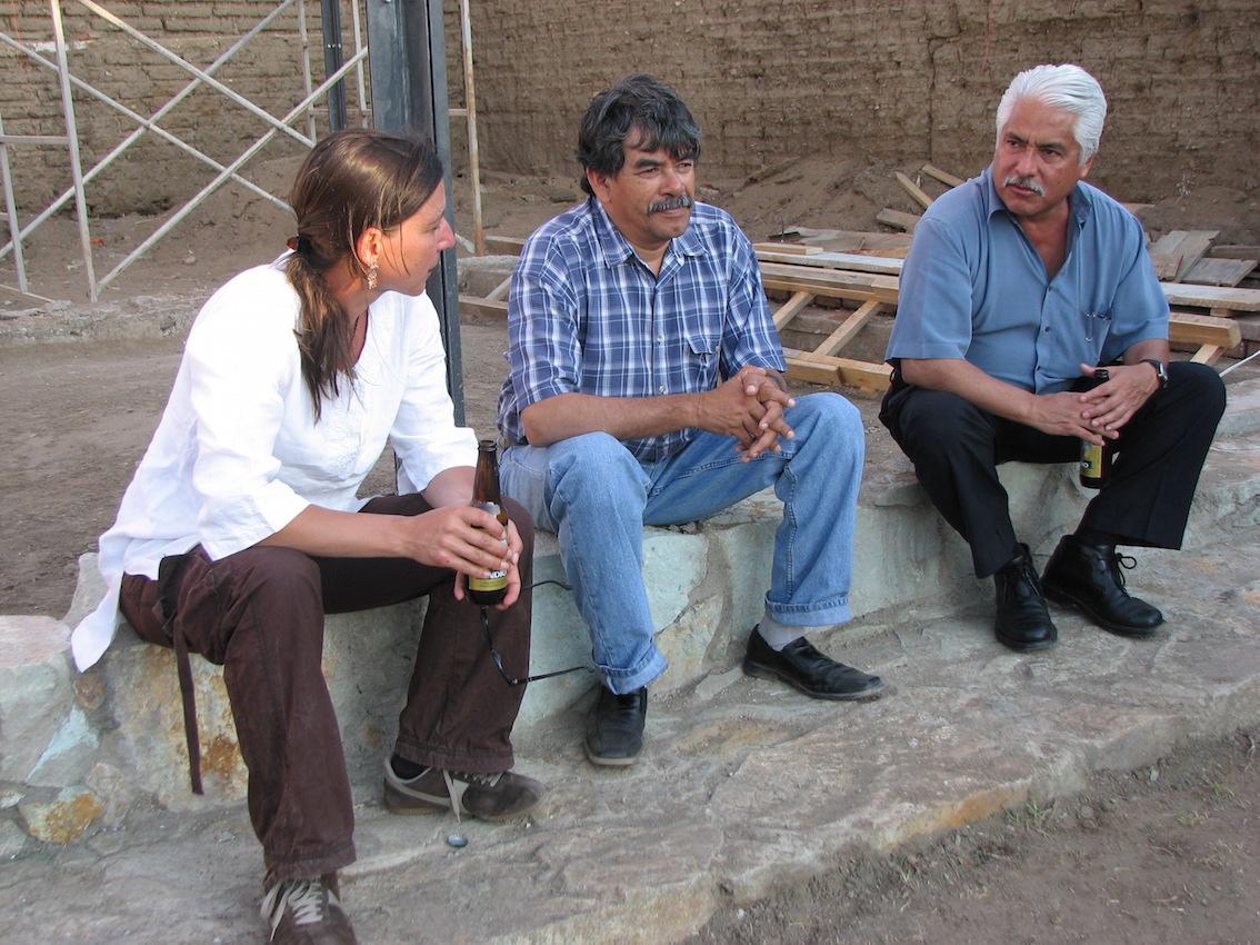 Director Maldonado, President Morales and db-director Hartig (right to left)
