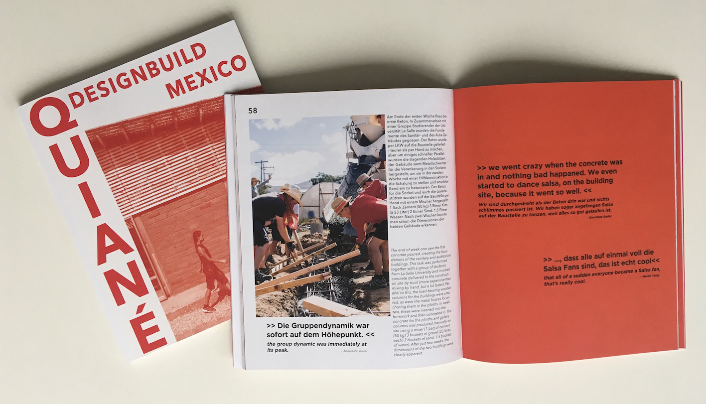 "Publication of the ""Quiané DesignBuild Mexico"" Project"