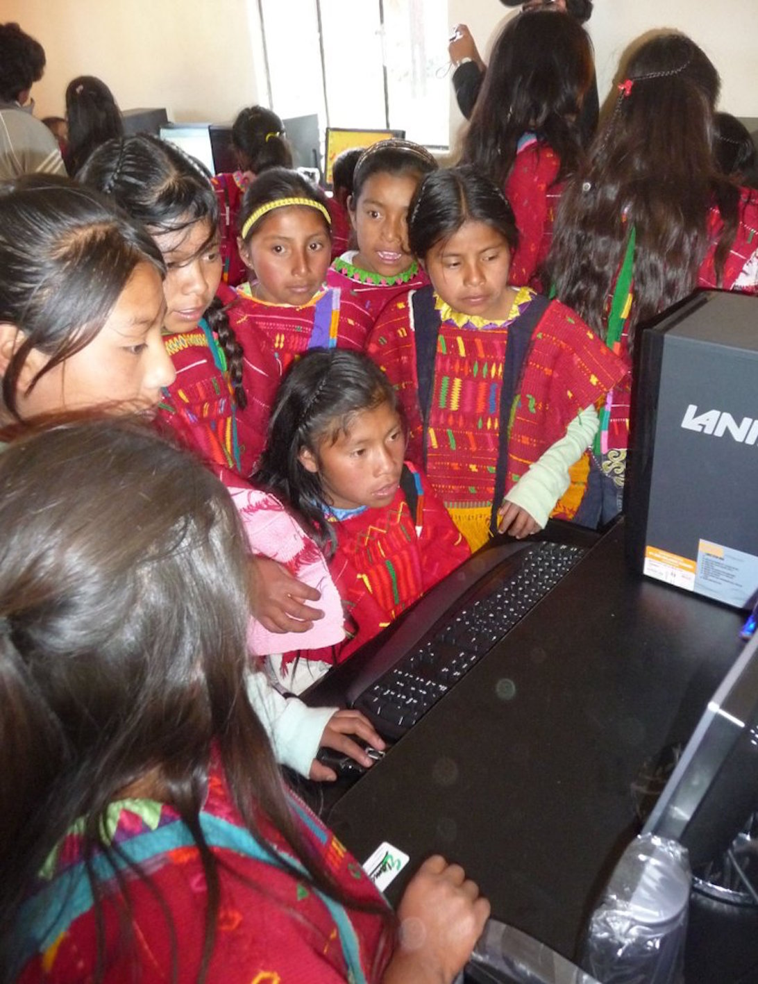 Computer arived in San Martin