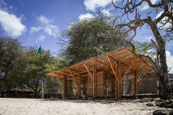 Playa Man Shade Shelter, Puerto Baquerizo Moreno, Galapagos