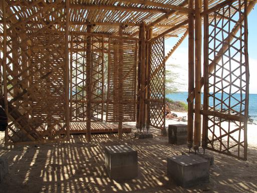 Playa Man Shade Shelter, interior