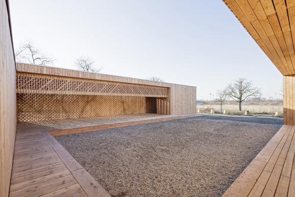 Courtyard for Communal Events