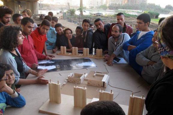 design presentation to the community of Dahab_02