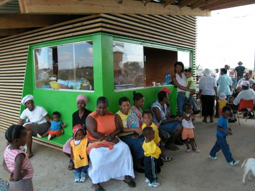 Emmanuel Daycare Center, opening ceremony