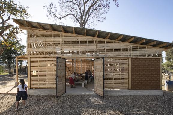 Site view Community Kitchen_CentroCulturalQuiané ©PaulinaOjeda