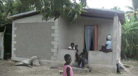 Rebuilt house after community workshops 2