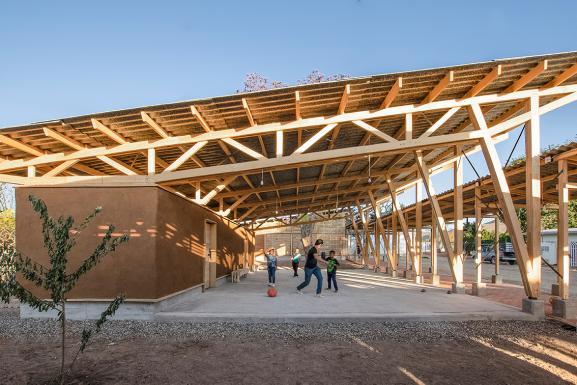 Open hall _CentroCulturalQuiané ©PaulinaOjeda