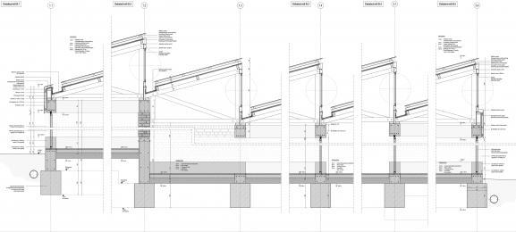 Detailschnitt, Werkplanung
