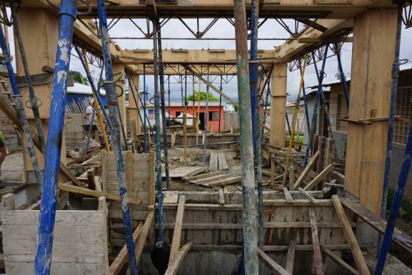 Formwork concrete structure