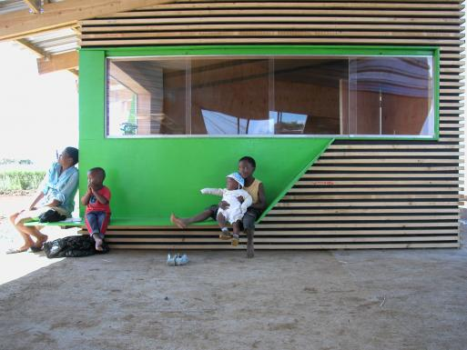 Emmanuel Daycare Center, waiting area