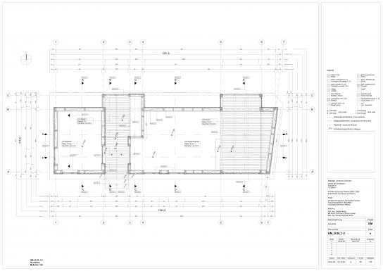 Floor Plan I Assembly Building