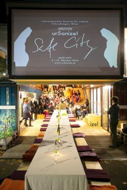 opening dinner of urbanize festival  © Johannes Hloch