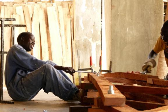 prefabrication of mahogany-trusses