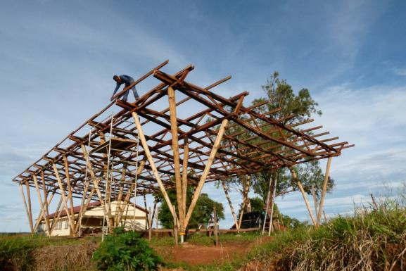 finishing of the roof-construction