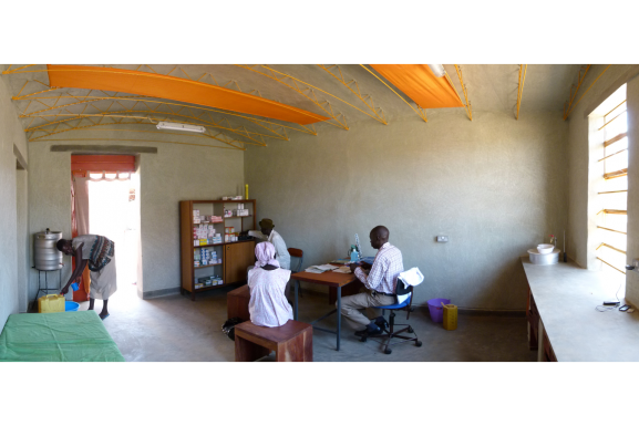 examination-room in use