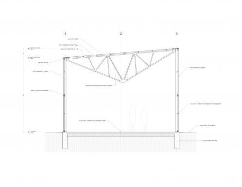 Pavilion Section.