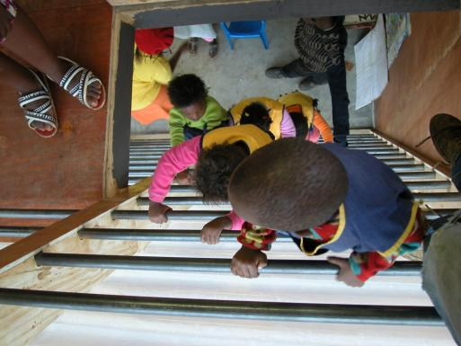 Emmanuel Daycare Center, alternative route to 2nd floor